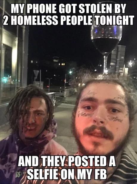 Post Malone Meme