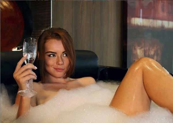 Sabrina Lynn Bathing